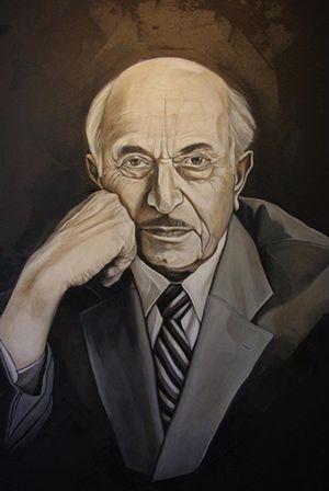 Simon Wiesenthal Portrait